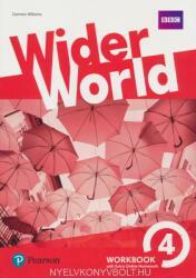 Wider World 4 Workbook with Extra Online Homework Pack - Damian Williams (ISBN: 9781292178806)