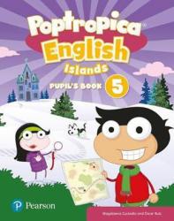 Poptropica English Level 5 Pupil's Book + PEP kód elektronicky - Aaron Jolly (ISBN: 9781292214023)