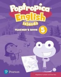 Poptropica English Islands Level 5 Teacher's Book with Online World Access Code + Test Book pack - Magdalena Custodio, Oscar Ruiz (ISBN: 9781292234854)