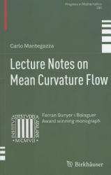 Lecture Notes on Mean Curvature Flow (2011)