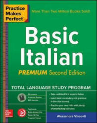 Practice Makes Perfect: Basic Italian Second Edition (ISBN: 9781260120905)