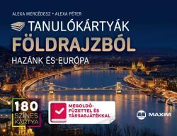 Tanulókártyák földrajzból - HAZÁNK ÉS EURÓPA (ISBN: 9789632619927)