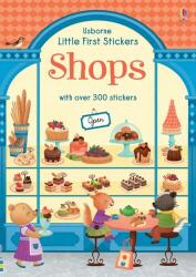 Little First Stickers Shops (ISBN: 9781474951296)