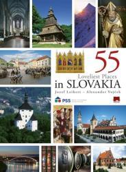 55 Loveliest Places in Slovakia, 2. vyd. - Jozef Leikert, Alexander Vojček (2018)