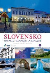 Slovensko Slovakia Slowakei La Slovaquie, 2. vydanie - Alexander Vojček, Ján Lacika (2018)