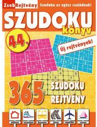 ZsebRejtvény SZUDOKU Könyv 44 (ISBN: 9781788606646)