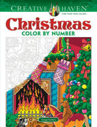 Creative Haven Christmas Color by Number - George Toufexis (2019)