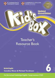 Kid's Box Level 6 Teacher's Resource Book with Online Audio British English - Kate Cory-Wright (ISBN: 9781316629482)