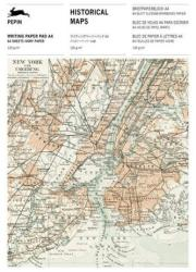 Historical Maps - Writing Paper & Note Pad A4 (ISBN: 9789460093050)