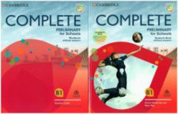 Complete Preliminary for Schools. Student's Book without answers with Online Practice and Workbook without answers with Audio Download (ISBN: 9783125405288)