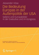 Bedeutung Europas in Der Aussenpolitik Der USA (2012)