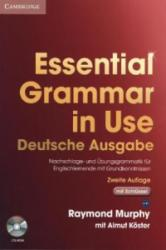 Essential Grammar in Use with Answers and CD-ROM German Klett Edition - Raymond Murphy, Almut Koester (2009)