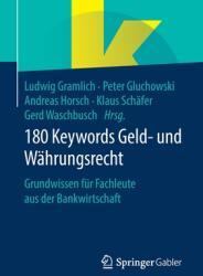 180 Keywords Geld- Und W (ISBN: 9783658282967)