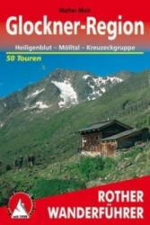Glockner régió túrakalauza / Bergverlag Rother ÚJ (2012)