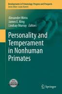Personality and Temperament in Nonhuman Primates (2011)