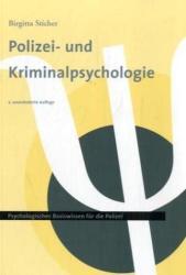 Polizei- und Kriminalpsychologie 1 (ISBN: 9783935979108)