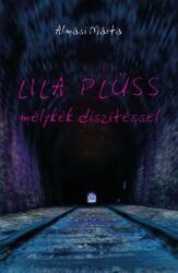 Lila plüss mélykék díszítéssel (2019)