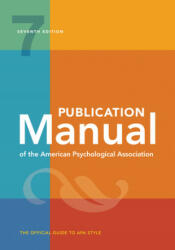 Publication Manual of the American Psychological Association (ISBN: 9781433832161)