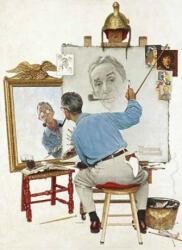 Norman Rockwell's Triple Self-Portrait Notebook (ISBN: 9780486814575)