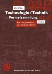 Technologie / Technik. Formelsammlung (2005)