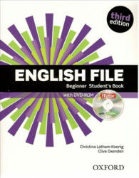 English File: Beginner: Student's Book with Oxford Online Skills (ISBN: 9780194909259)