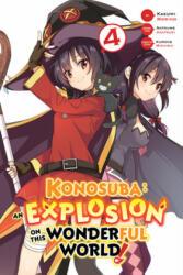 Konosuba: An Explosion on This Wonderful World! , Vol. 4 (ISBN: 9781975306038)