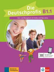Die Deutschprofis B1.1. Kurs- und Übungsbuch mit Audios und Clips online - Olga Swerlowa (ISBN: 9783126764865)