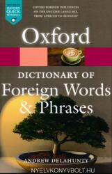 Oxford Dictionary of Foreign Words and Phrases (ISBN: 9780199543687)