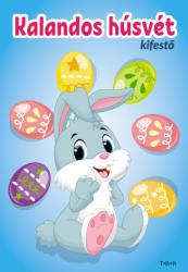 Kalandos húsvét - Kifestő §H (ISBN: 9789635100613)