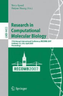 Research in Computational Molecular Biology - Terry Speed, Haiyan Huang (2007)