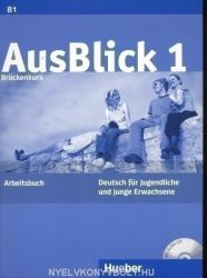 Немски език AusBlick 1 - Arbeitsbuch mit integrierter Audio-CD (ISBN: 9783190118601)