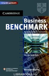 Business Benchmark Pre-Intermediate to Intermediate Personal Study Book BEC and BULATS Edition - Norman Whitby (ISBN: 9780521672863)