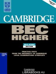 Cambridge BEC Higher 1: Examination Papers from University of Cambridge ESOL Examinations: English for Speakers of Other Languages (ISBN: 9780521752893)