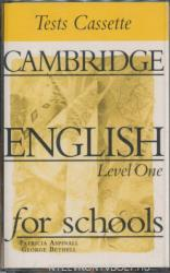 Cambridge English for Schools Tests 1 Audio Cassette (ISBN: 9780521656474)