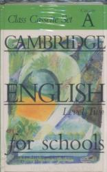 Cambridge English for Schools 2 Class cassette set (ISBN: 9780521421829)