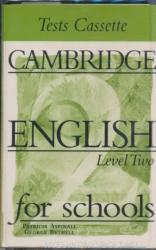 Cambridge English for Schools Tests 2 Audio Cassette (ISBN: 9780521656450)