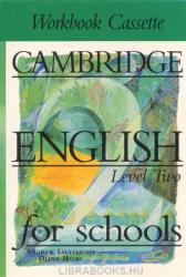 Cambridge English for Schools 2 Workbook cassette (ISBN: 9780521421317)
