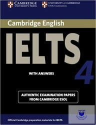 Cambridge IELTS 4 Student's Book with Answers - Cambridge ESOL (ISBN: 9780521544627)