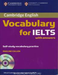 Cambridge Vocabulary for IELTS Book with Answers and Audio CD (ISBN: 9780521709750)