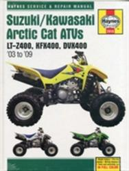 Suzuki/Kawasaki Arctic Cat ATV's Service and Repair Manual - 2003 to 2009 (2011)
