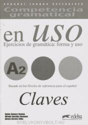 Competencia gramatical en Uso A2 Clave (ISBN: 9788477115007)