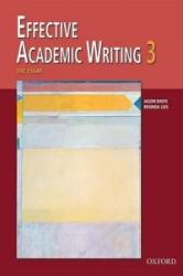 Effective Academic Writing: 3: The Essay (ISBN: 9780194309240)