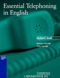 Essential Telephoning in English Student's Book (ISBN: 9780521783880)