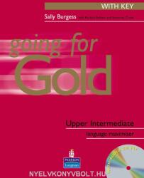 Going for Gold Upper-Intermediate Language Maximiser with Key & CD Pack - Sally Burgess (ISBN: 9780582529212)