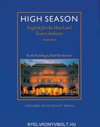 High Season Student's Book - Keith Harding, Paul Henderson, Michael Duckworth (ISBN: 9780194513081)