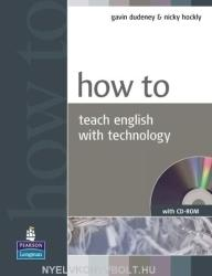 How to Teach English with Technology Book and CD-Rom Pack (ISBN: 9781405853088)