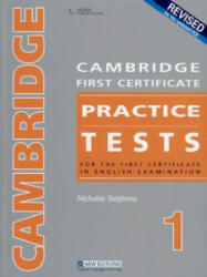 CAMBRIDGE FC PRACTICE TESTS 1REV ED TEACHER'S BOOK - Nicholas Stephens (2008)