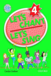 Let's Chant, Let's Sing: 4: CD Pack - Carolyn Graham (ISBN: 9780194389181)