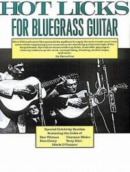 Hot Licks for Bluegrass Guitar - Orrin Star (ISBN: 9780825602917)