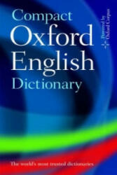 Compact Oxford English Dictionary of Current English (ISBN: 9780199532964)